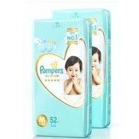 Pampers 帮宝适 一级系列 婴儿纸尿裤 M104片 *2件