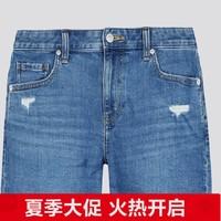 UNIQLO 优衣库 427242 女士牛仔短裤