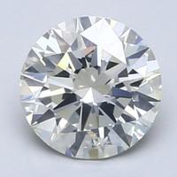 补贴购:Blue Nile 1.01克拉圆形切割钻石 理想切工 K成色 SI2净度