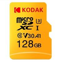 Kodak 柯达 性能级 microSDXC A1 UHS-I U3 TF存储卡 128GB