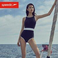京东PLUS会员:Speedo 速比涛 绮遇系列 女士泳衣浮岛款 8122073503 女士连体泳衣