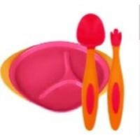 百亿补贴:B.box 婴儿学食碗 分隔餐盘 +勺叉套装