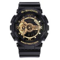 绝对值:CASIO 卡西欧 G-SHOCK GA-110GB-1A 男士运动手表