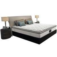 京东PLUS会员:DeRUCCI 慕思 塔利亚 分区护脊软硬双面弹簧床垫 1.8m