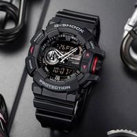 历史低价:CASIO 卡西欧 G-SHOCK GA-400-1B 男士运动手表