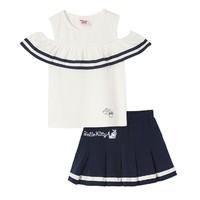 Hello Kitty 凯蒂猫 女童两件套裙