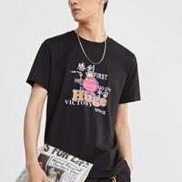 PEACEBIRD MEN 太平鸟 BWDAA1111 短袖T恤
