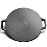 创业不是梦:KITCHEN TIME 厨时代 铸铁煎饼烙锅 28cm