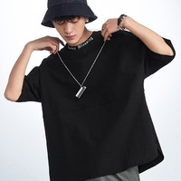 PEACEBIRD MEN 太平鸟 BWDAA2185 男士阔版短袖T恤 *3件