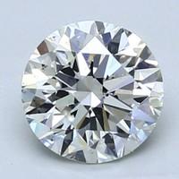 补贴购:Blue Nile 1.02克拉圆形切割钻石 非常好切工 H级成色 VS2净度