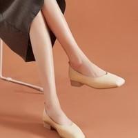 达芙妮 202001050MJ 女士浅口方头鞋