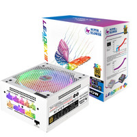 5日0点:SUPER FLOWER 振华 LEADEX ARGB 电脑电源  550W