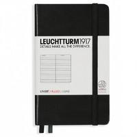 LEUCHTTURM1917 灯塔 硬皮笔记本 A6口袋 185页 *2件