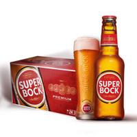 超级波克 经典黄啤 250ml*24瓶   *3件