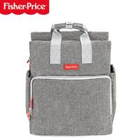 京东PLUS会员:Fisher-Price 费雪 多功能大容量妈咪包