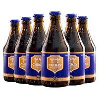 智美(Chimay)蓝帽啤酒 修道士精酿 组合装 330ml*6瓶  *2件