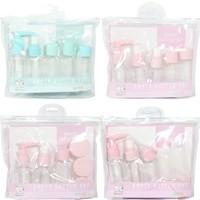 良舍匠筑 旅行分装瓶8件套 粉色装
