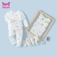 京东PLUS会员:Miiow  猫人 儿童内衣套装 *5件