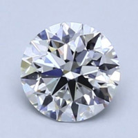 补贴购:Blue Nile 0.61克拉圆形切割钻石 理想切工 E级成色 VS1净度