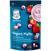 Gerber 嘉宝 酸奶溶豆 草莓味 28g *5件
