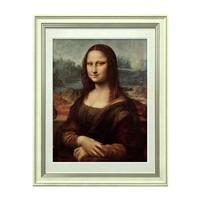 达芬奇《蒙娜丽莎》艺术版画 画框尺寸45*35cm