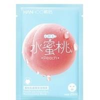 Hanhoo 韩后 桃子乳酸菌补水面膜 1片
