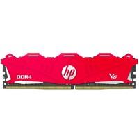 5日0点:HP 惠普 V6系列 DDR4 2666 台式机内存 红色 8GB