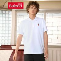 6日0点:Baleno 班尼路 中性款短袖polo衫 *4件