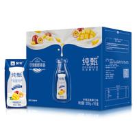 蒙牛 纯甄 常温风味酸牛奶 芒果百香果口味 200g*16盒 *4件