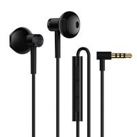 MI 小米 双单元半入耳式耳机 黑色