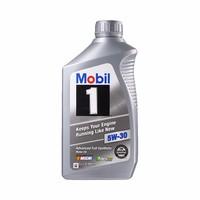 Mobil 美孚 1号 全合成机油 5W-30 A1/B1 SN级 1QT*5瓶