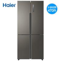 Haier 海尔 BCD-470WDPG 十字对开门冰箱 470L
