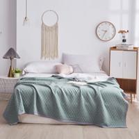Xanlenss 轩蓝仕 JM 格调 馨雅纯棉针织棉空调被 绿150*200cm