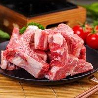 龙大肉食 猪脊骨块 500g *10件