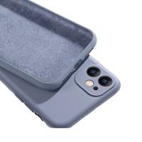 观悦 iPhone11全系列 液态硅胶手机壳+钢化膜