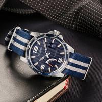 6日0点:CITIZEN 西铁城 AW7038-04L 男士光动能复古手表