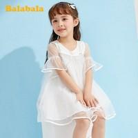 百亿补贴:Balabala 巴拉巴拉 女童连衣裙公主裙