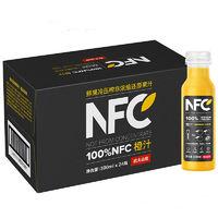 考拉海购黑卡会员:农夫山泉 NFC果汁饮料 NFC橙汁 300ml*24瓶 *2件