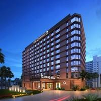 绿地酒店集团 三亚/海口2晚通兑房券 可拆分(含2份早餐 接送)