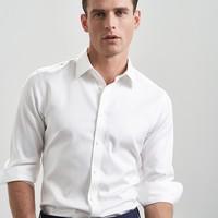 VICUTU 威可多 VBW99351145 男士长袖衬衫