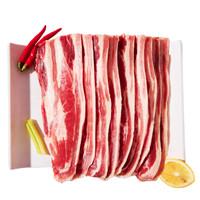 绝世 厚切牛肉片肥牛片 130克*5袋 *2件