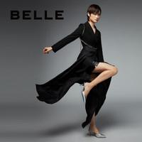 京东PLUS会员:BeLLE 百丽 3LM31AH0 女士凉鞋