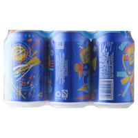 移动专享:千岛湖啤酒 8°P乐享时光拉罐 330ml*6瓶