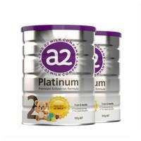 88VIP:a2 艾尔 白金系列 婴幼儿配方奶粉 2段 900g 2罐装