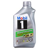 Mobil 美孚 1号全合成 节油型 AFE 0W-20  SN 1Qt *11件