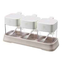 简丽欧 厨房组合调味盒 3个带底盘