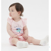 Gap 盖璞 580539 婴儿信封领连体衣