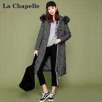 La Chapelle 拉夏贝尔 1T000254 女士中长款羽绒服