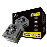 FSP 全汉 MS600G 经典版 金牌全模组电源 额定600W