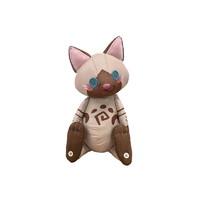 玩模总动员:CAPCOM 卡普空 《怪物猎人世界:冰原》艾露猫人形 布偶